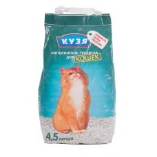Наполнитель для кошачьего туалета Кузя, пак. 4,5 л