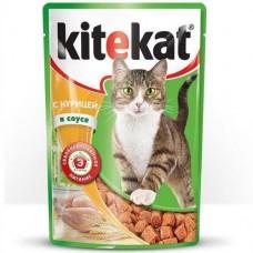 Корм для кошек Китекат Индейка в соусе, пак. 85г